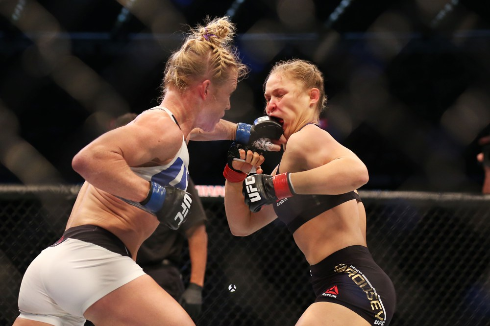 Rousey x Holm