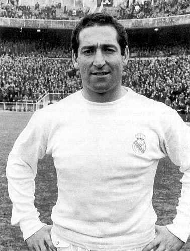 Francisco Gento pelo Real Madrid