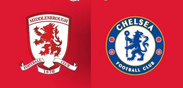 Middlesbrough x Chelsea