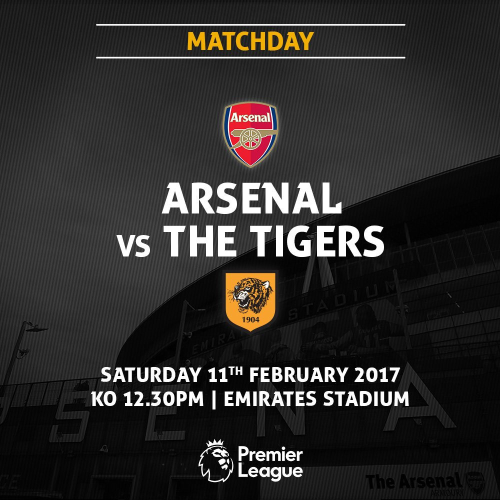 Arsenal x Hull City