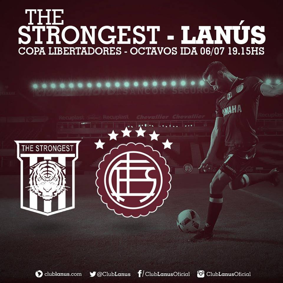 The Strongest x Lanús: online na TV