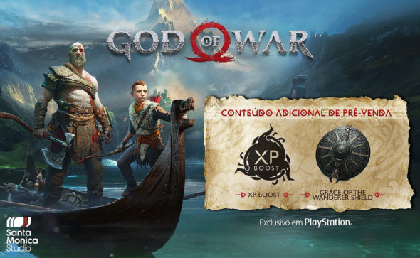 Amazon indica lançamento para abril — God Of War