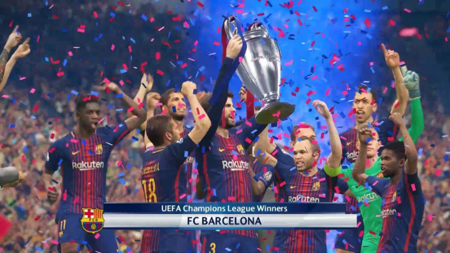 PES perde exclusividade da UEFA Champions League
