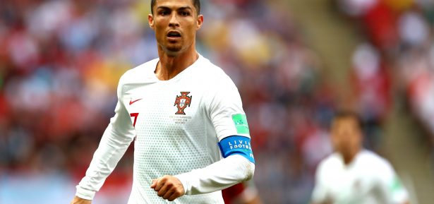 Copa 2018 MOSCOW, RUSSIA - JUNE 20: Cristiano Ronaldo of Portugal looks on during the 2018 FIFA World Cup Russia group B match between Portugal and Morocco at Luzhniki Stadium on June 20, 2018 in Moscow, Russia. (Photo by Dean Mouhtaropoulos/Getty Images)