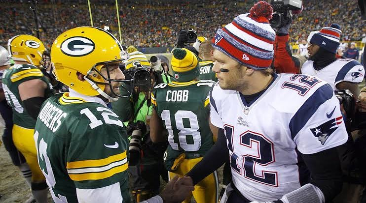 d0d5bf139 New England Patriots x Green Bay Packers se enfrentam no Sunday Night  Football da semana 9 da NFL. O jogo acontece no Gillette Stadium